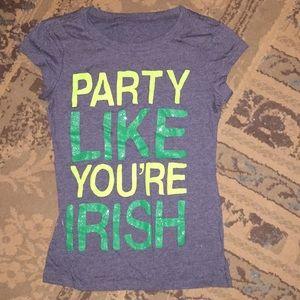 Party like you're Irish T-shirt